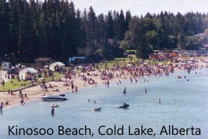Kinosoo Beach, Cold Lake, Alberta