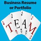 Business Resume/Portfolio – (less than 20 employees)