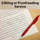Editing/Proofreading (per hour)