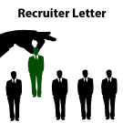Professional Level – Recruiter Letter