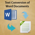 Entry Level – Conversion to ASCII Text and PDF
